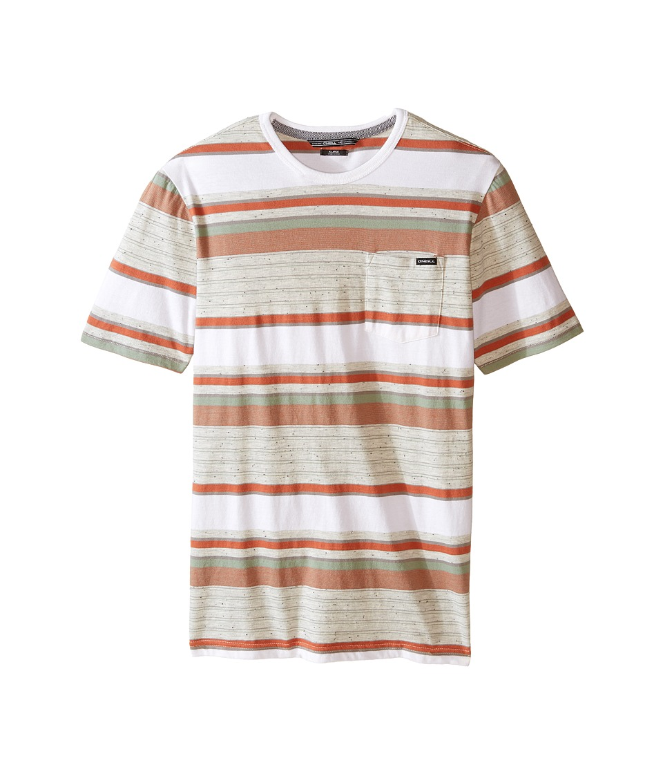 O'Neill Kids - Lewis Short Sleeve Crew Top (Big Kids) (Bone) Boy's Short Sleeve Pullover