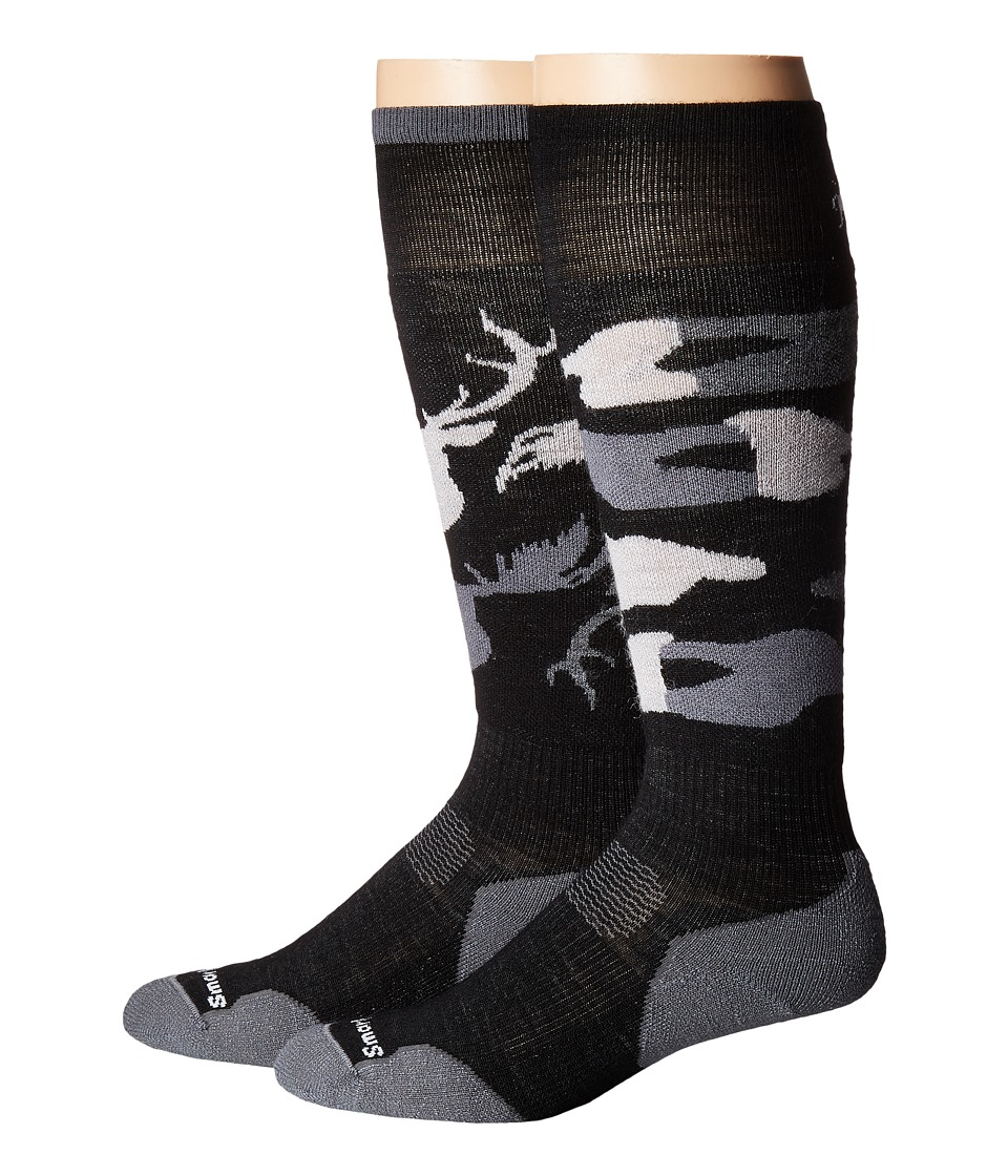 Smartwool - PhD Slopestyle Light Revelstoke (Black) Men's Knee High Socks Shoes