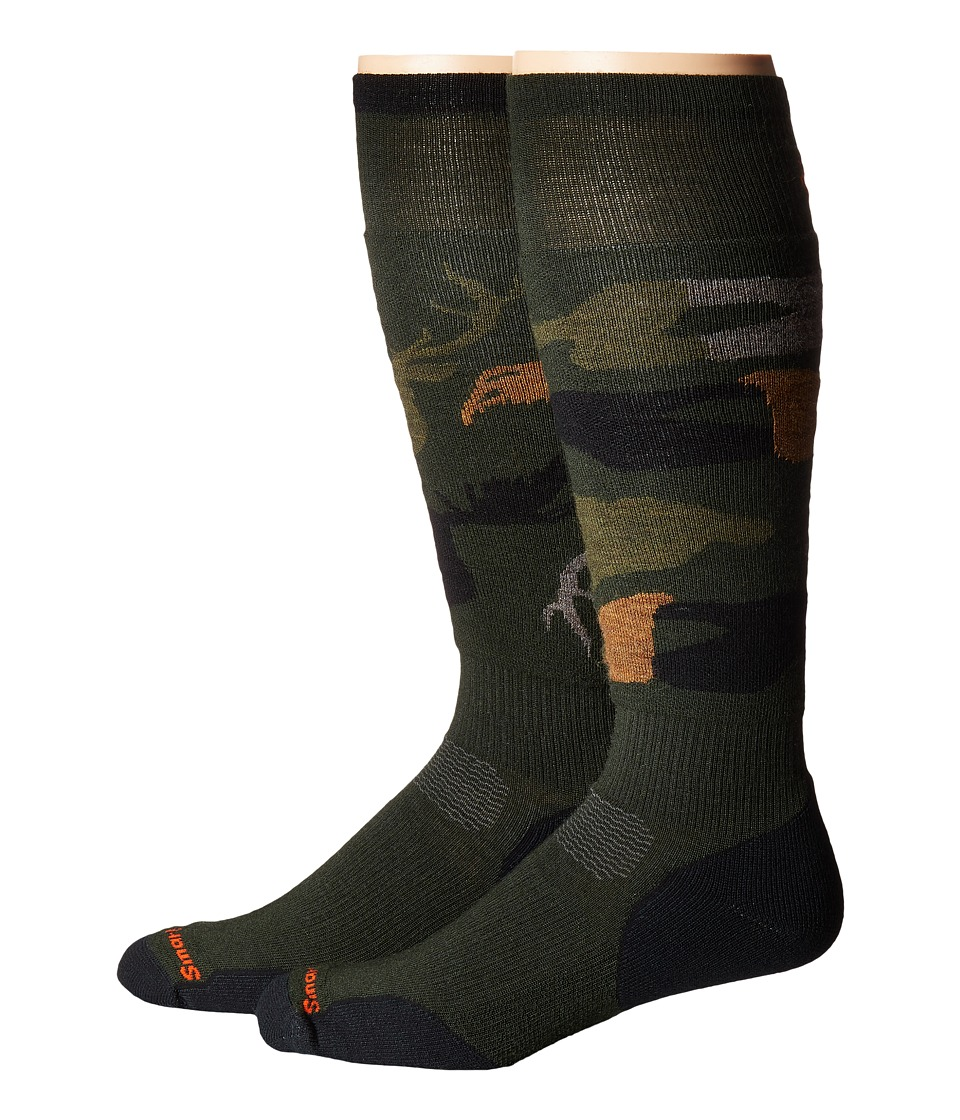 Smartwool - PhD Slopestyle Light Revelstoke (Forest) Men's Knee High Socks Shoes