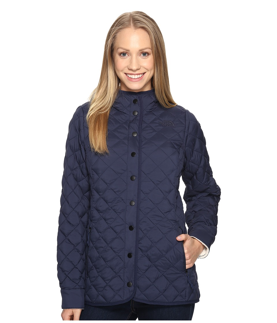 The North Face - ThermoBall Fur Hoodie (Cosmic Blue (Prior Season)) Women's Coat