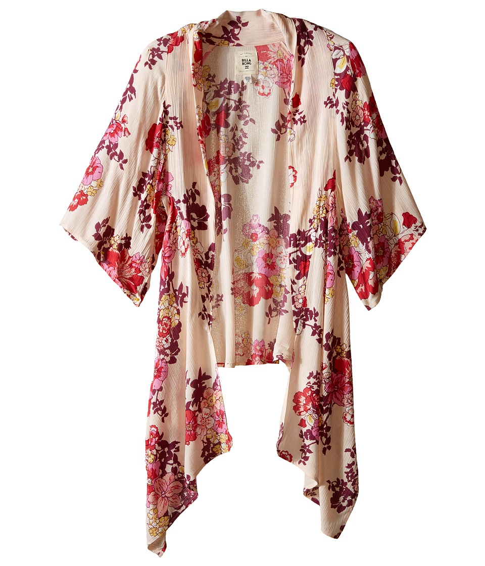 Billabong Kids - Endless Seas Kimono (Little Kids/Big Kids) (Blush) Girl's Clothing