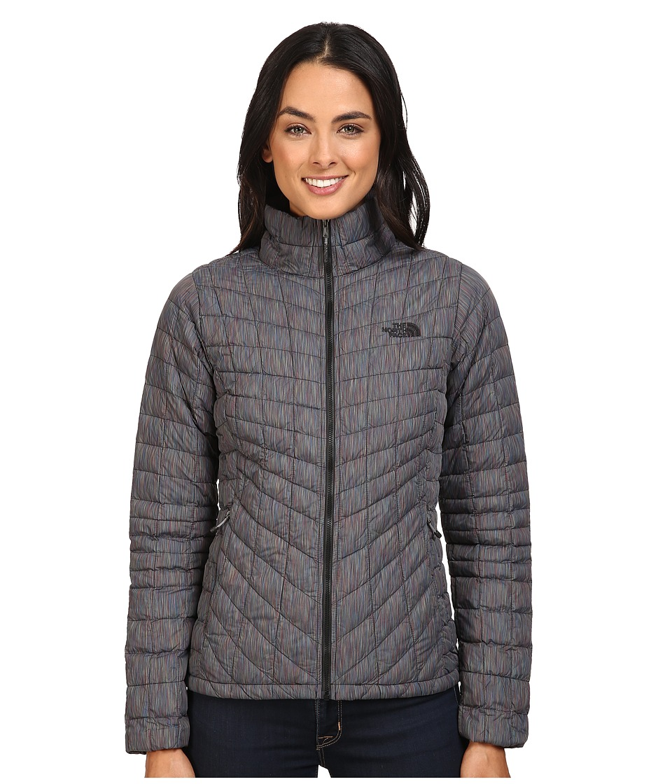 The North Face - ThermoBall Full Zip Jacket (Tnf Black Multicolor) Women's Coat