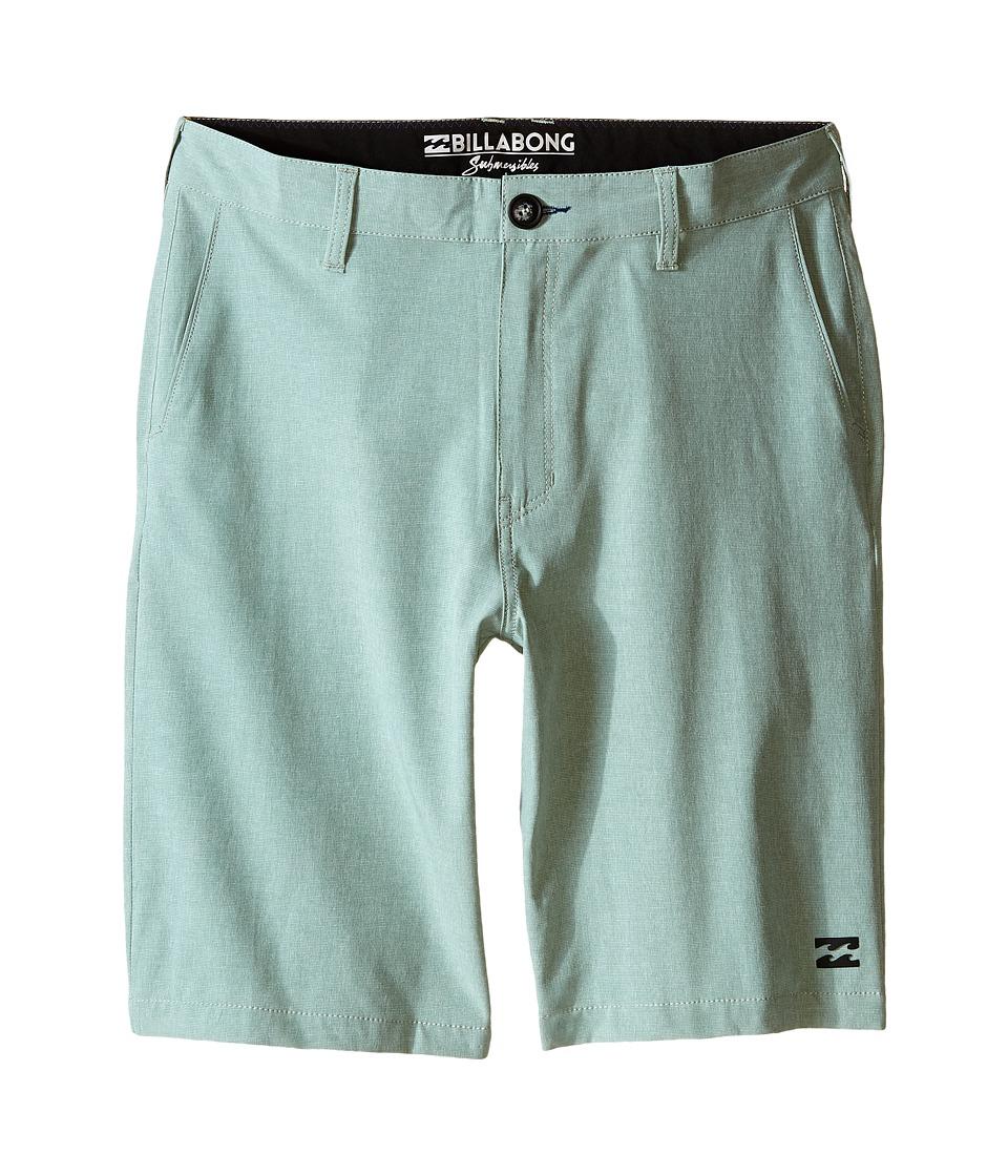 Billabong Kids - Crossfire X Shorts (Big Kids) (Mint) Boy's Shorts