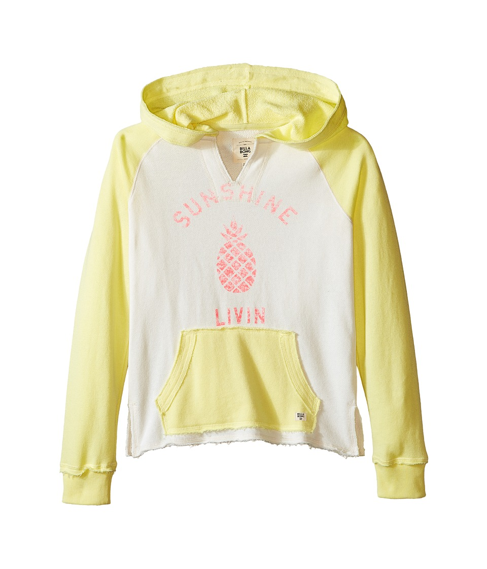 Billabong Kids - Day Away Hoodie (Little Kids/Big Kids) (Pineapple) Girl's Sweatshirt