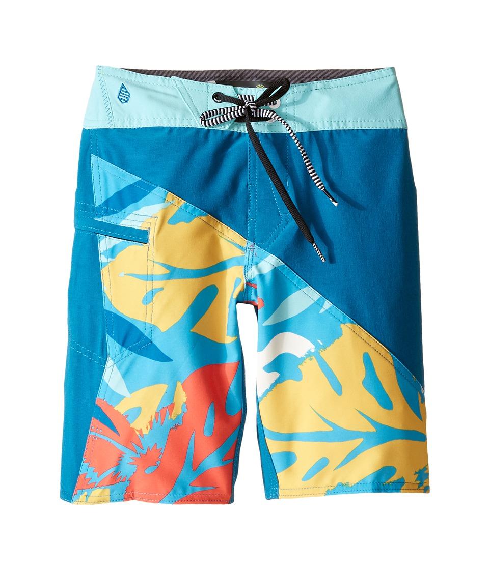 Volcom Kids - Liberation Mod Boardshorts (Big Kids) (Bright Marine) Boy's Swimwear