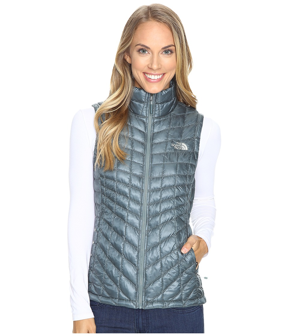 The North Face - ThermoBall Vest (Balsam Green) Women's Vest