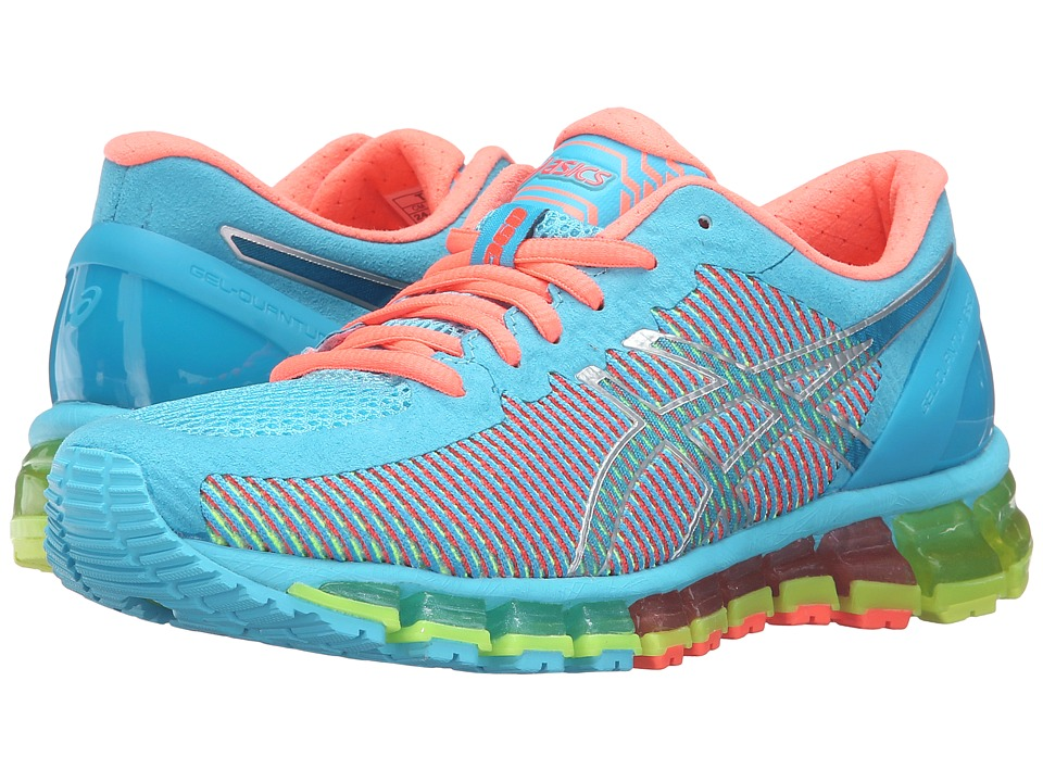 ASICS - Gel-Quantum 360 CM (Aquarium/White/Flash Coral) Women's Running Shoes