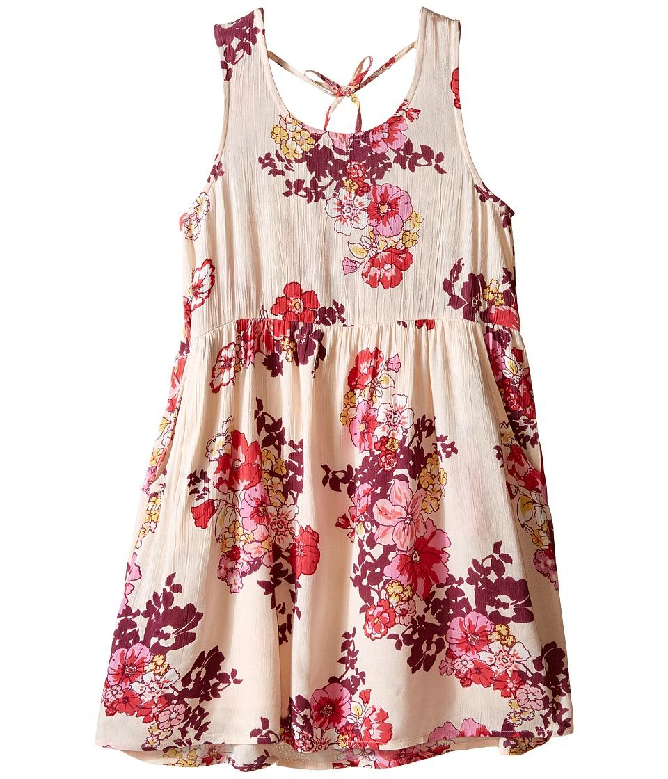 Billabong Kids - Lovely Dreamer Woven Dress (Little Kids/Big Kids) (Blush) Girl's Dress
