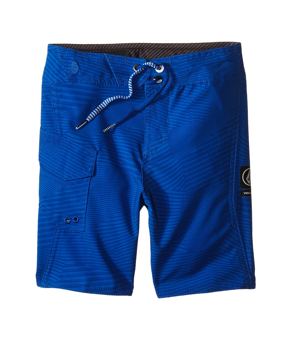 Volcom Kids - Stone Mod Boardshorts (Toddler/Little Kids) (Estate Blue) Boy's Swimwear