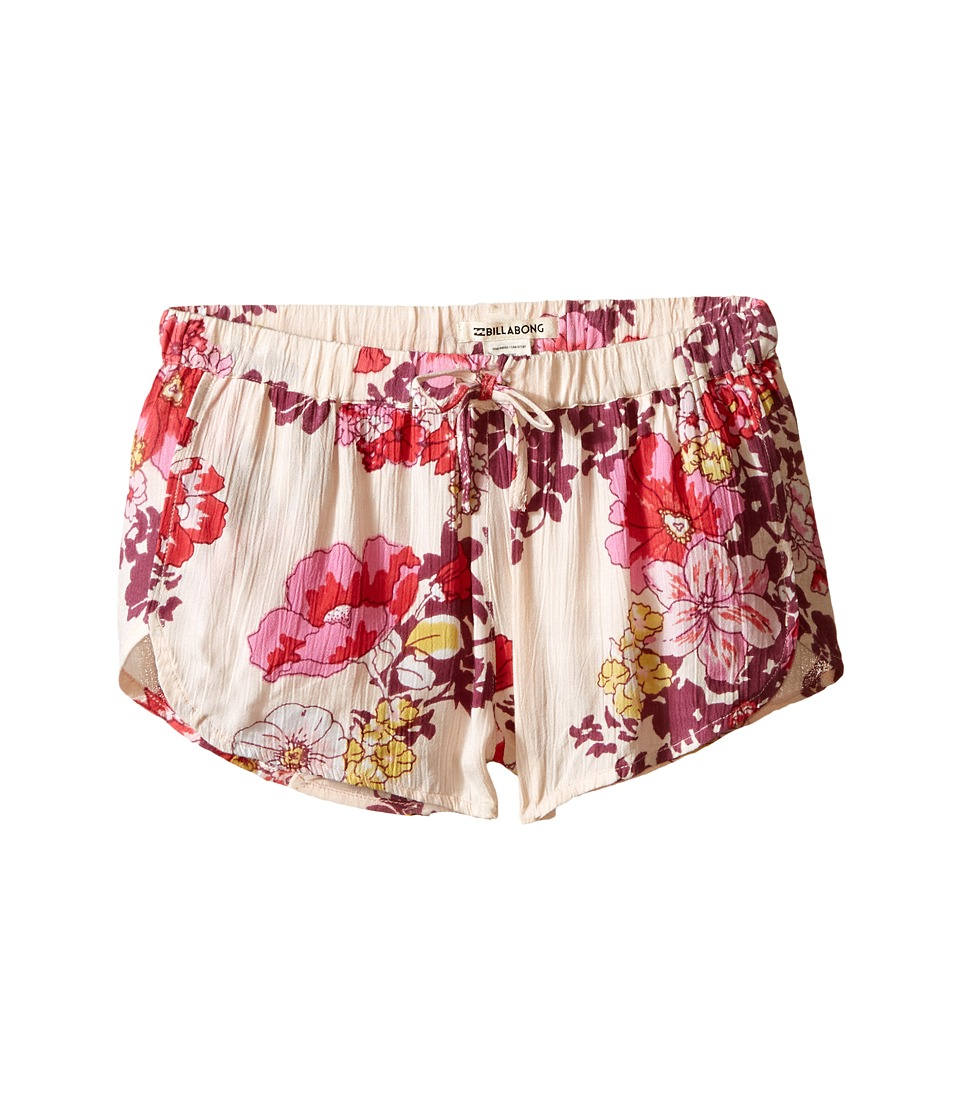 Billabong Kids - Short N Sweet Printed Shorts (Little Kids/Big Kids) (Blush) Girl's Shorts
