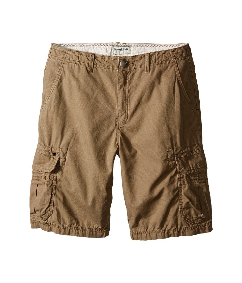 Billabong Kids - Scheme Shorts (Big Kids) (Khaki) Boy's Shorts