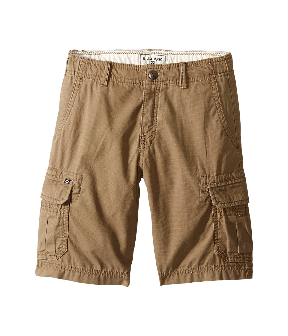 Billabong Kids - Scheme Shorts (Toddler/Little Kids) (Khaki) Boy's Shorts