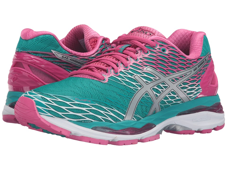 ASICS - Gel-Nimbus 18 (Lapis/Silver/Sport Pink) Women's Running Shoes