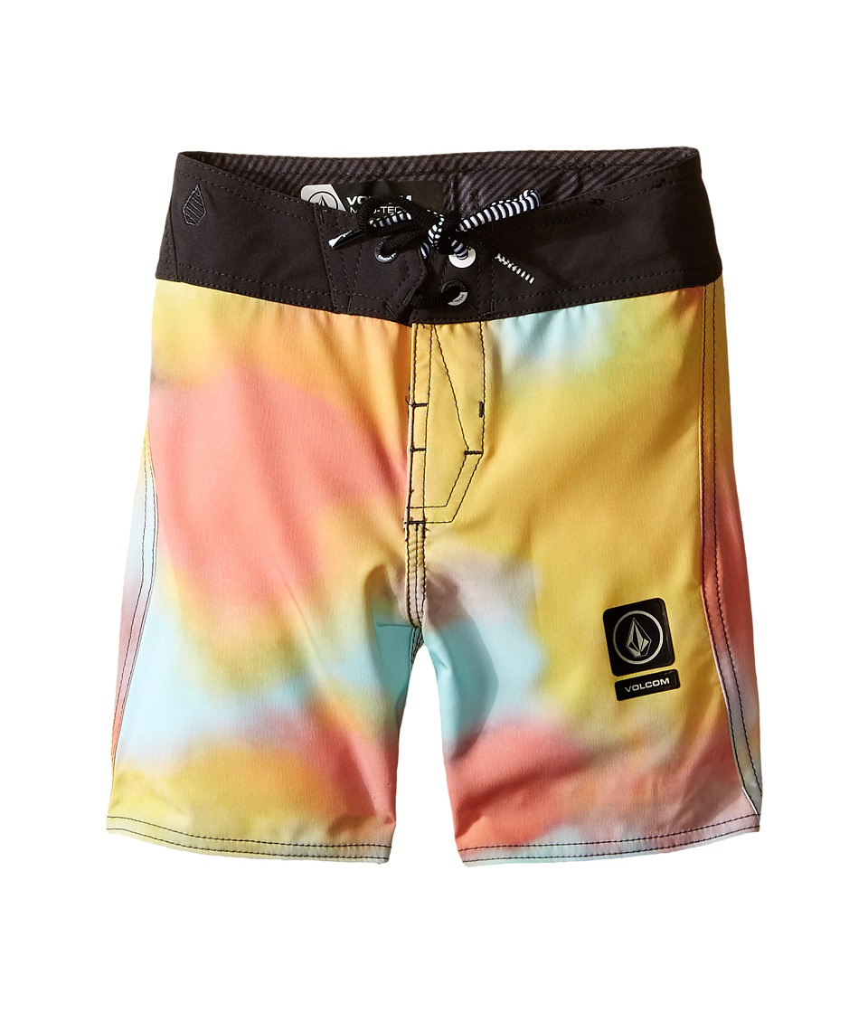 Volcom Kids - Tie-Dye Mod Boardshorts (Big Kids) (Multi) Boy's Swimwear