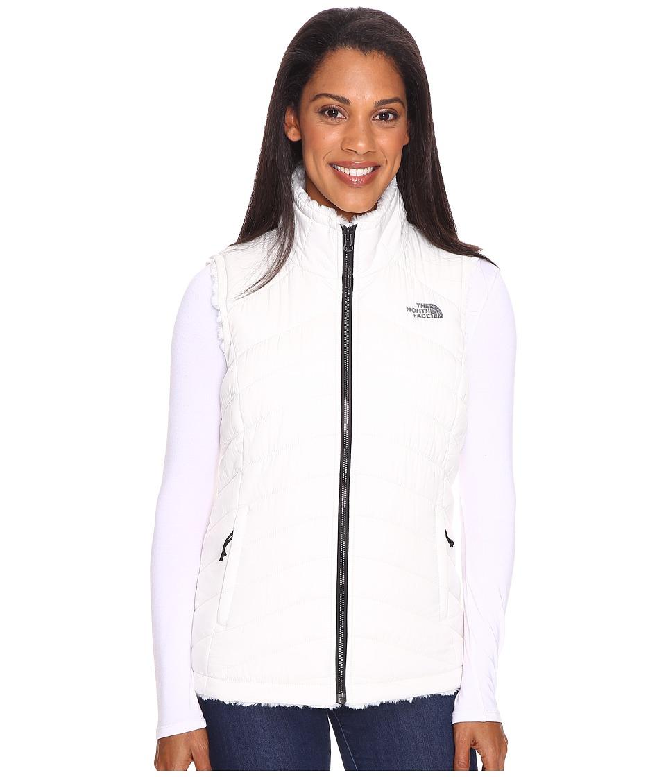 The North Face Mossbud Swirl Reversible Vest (Vaporous Grey) Women