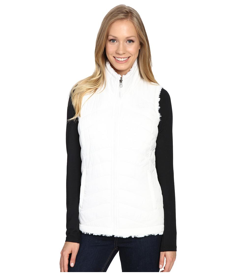 The North Face - Mossbud Swirl Reversible Vest (TNF White) Women's Vest