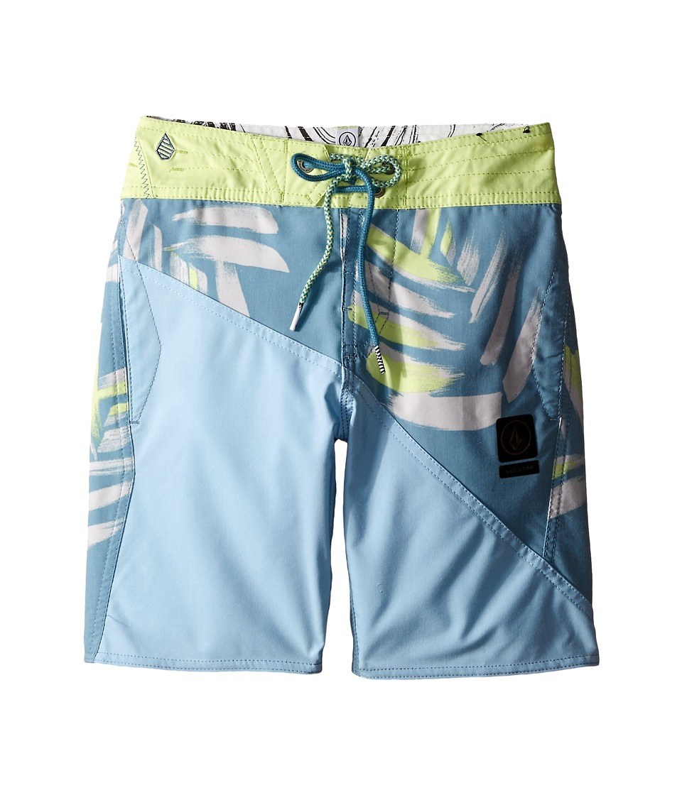 Volcom Kids - Liberation Slinger Boardshorts (Big Kids) (Tidal Blue) Boy's Swimwear