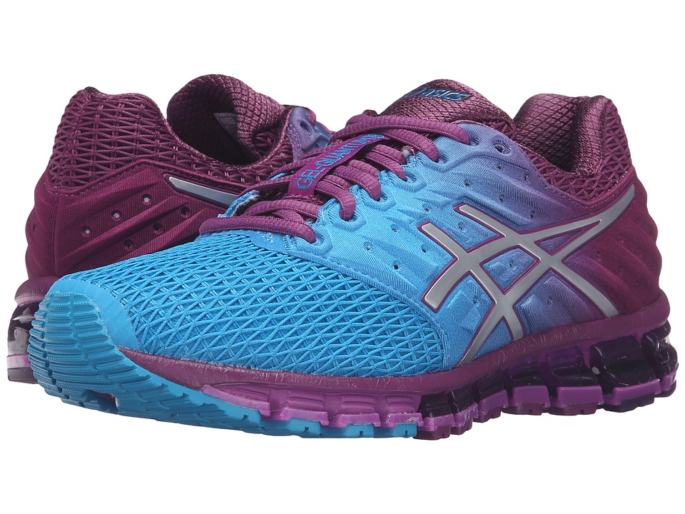 ASICS - Gel-Quantum(r) 180 2 (Blue Jewel/Silver/Pholox) Women's Running Shoes