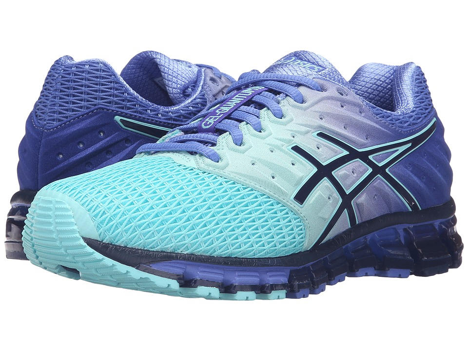 ASICS - Gel-Quantum(r) 180 2 (Aruba Blue/Blue Print/Primrose Purple) Women's Running Shoes