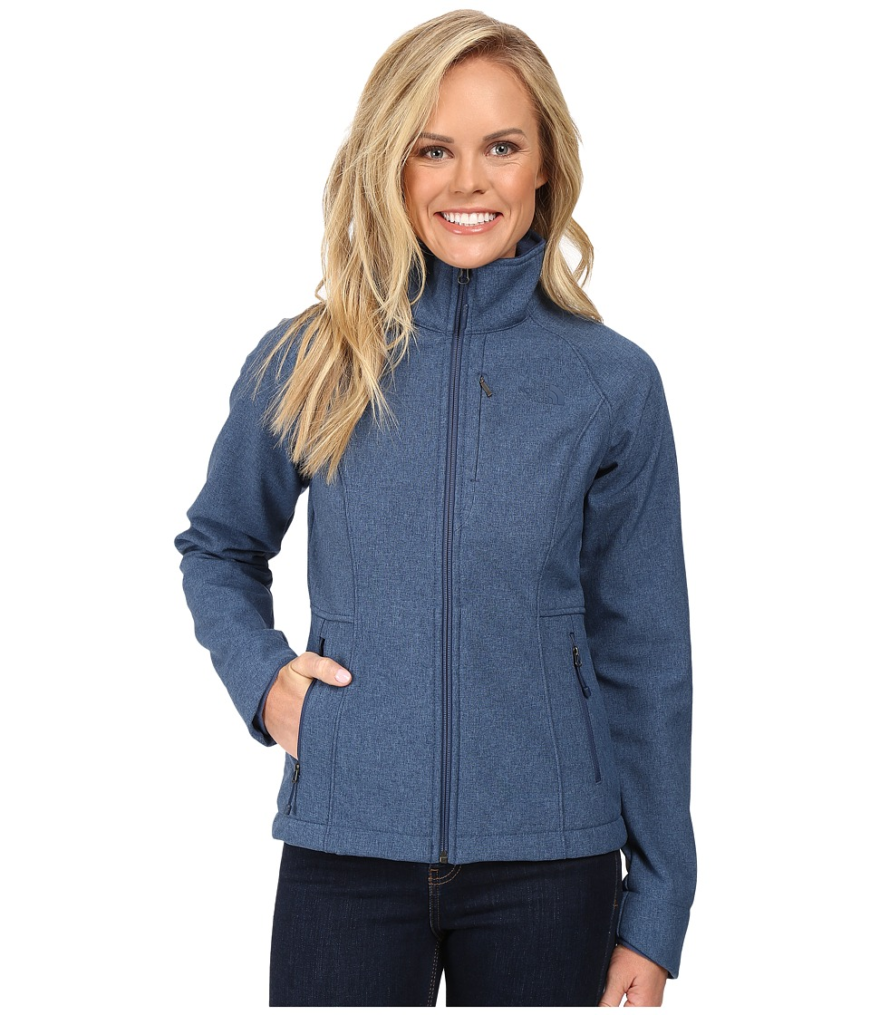 The North Face - Apex Bionic Jacket (Shady Blue Heather) Women's Coat