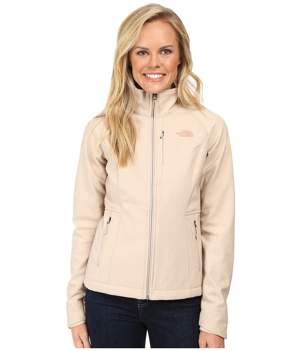 The North Face - Apex Bionic Jacket (Doeskin Brown Heather) Women's Coat