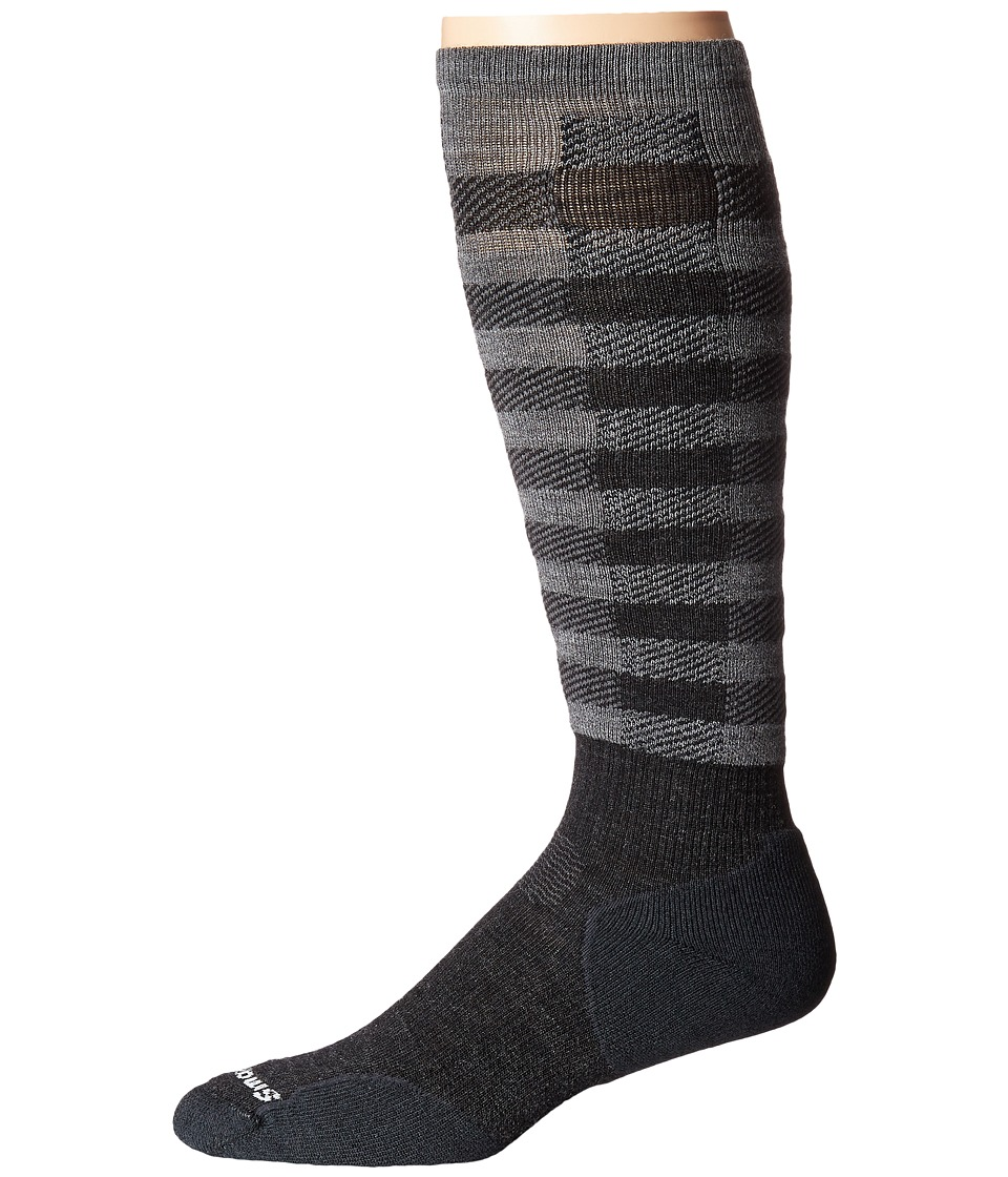 Smartwool - PhD Slopestyle Light Ifrane (Charcoal) Men's Knee High Socks Shoes