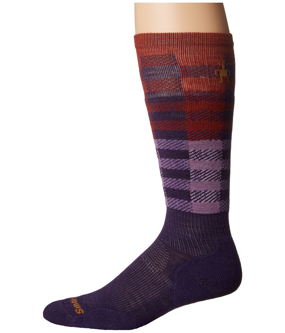 Smartwool - PhD Slopestyle Light Ifrane (Mountain Purple) Men's Knee High Socks Shoes