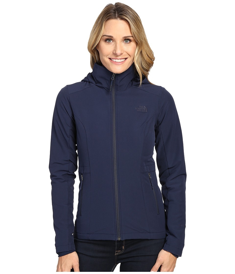 The North Face - Shelbe Rashcel Hoodie (Cosmic Blue) Women's Coat