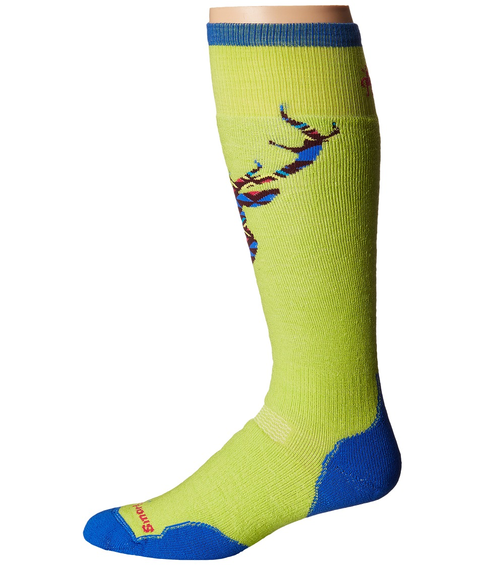 Smartwool - PhD Slopestyle Medium Akaigawa (Smartwool Green) Men's Knee High Socks Shoes