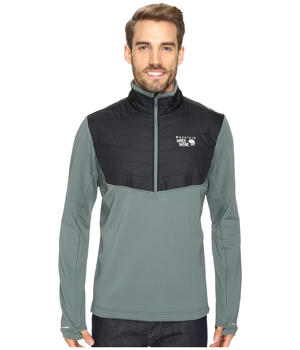 Mountain Hardwear - 32 Insulated 1/2 Zip (Thunderhead Grey) Men's Long Sleeve Pullover