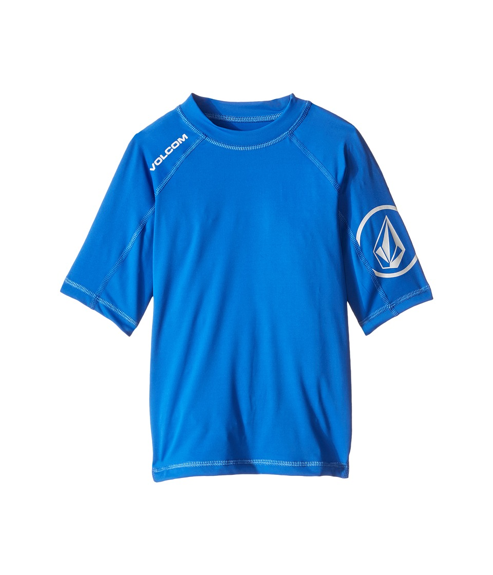 Volcom Kids - Solid Short Sleeve Top (Toddler/Little Kids) (Estate Blue) Boy's Short Sleeve Pullover
