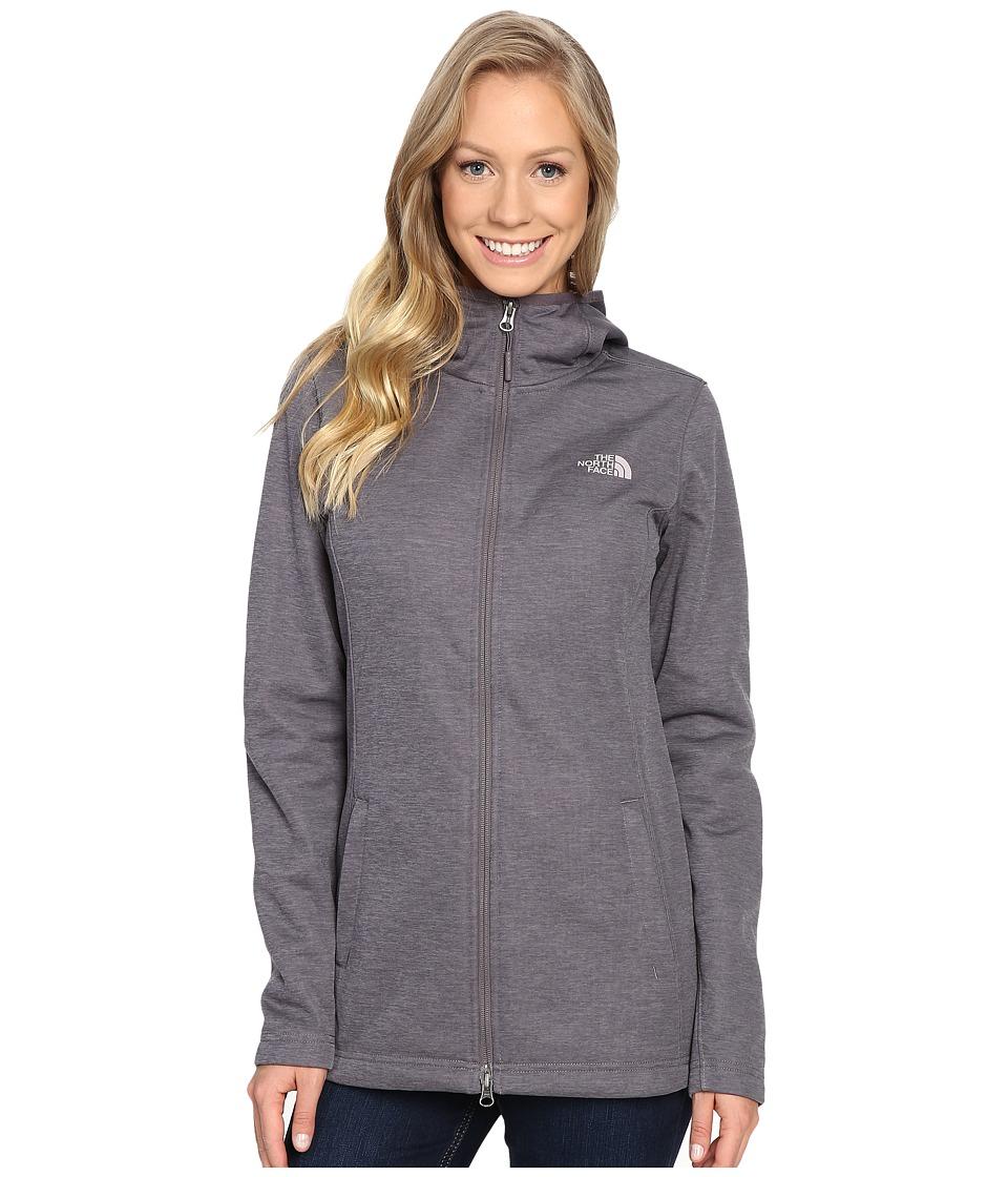 The North Face - Meadowbrook Raschel Parka (Rabbit Grey Heather) Women's Coat