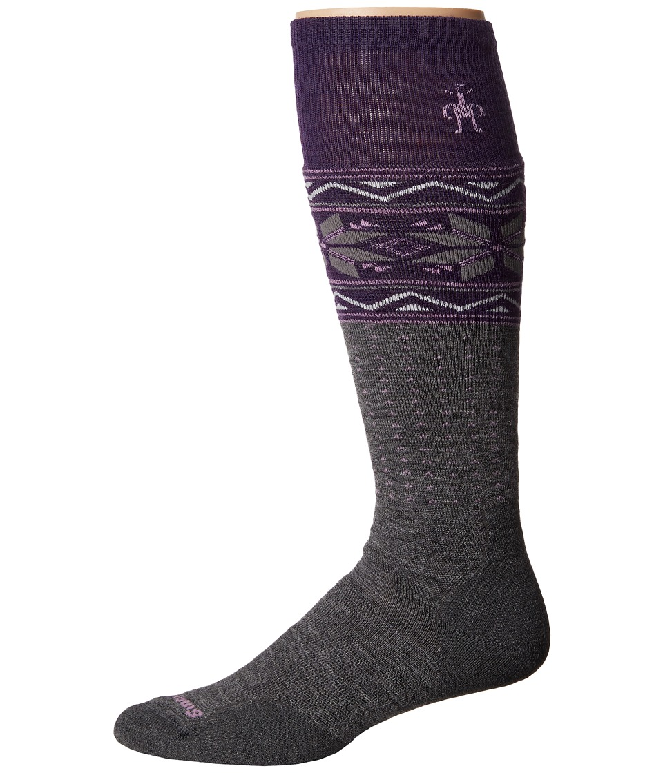 Smartwool - PhD Slopestyle Medium Wenke (Medium Grey) Men's Knee High Socks Shoes
