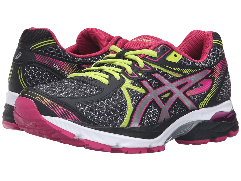 ASICS - GEL-Flux 3 (Black/Silver/Sport Pink) Women's Running Shoes