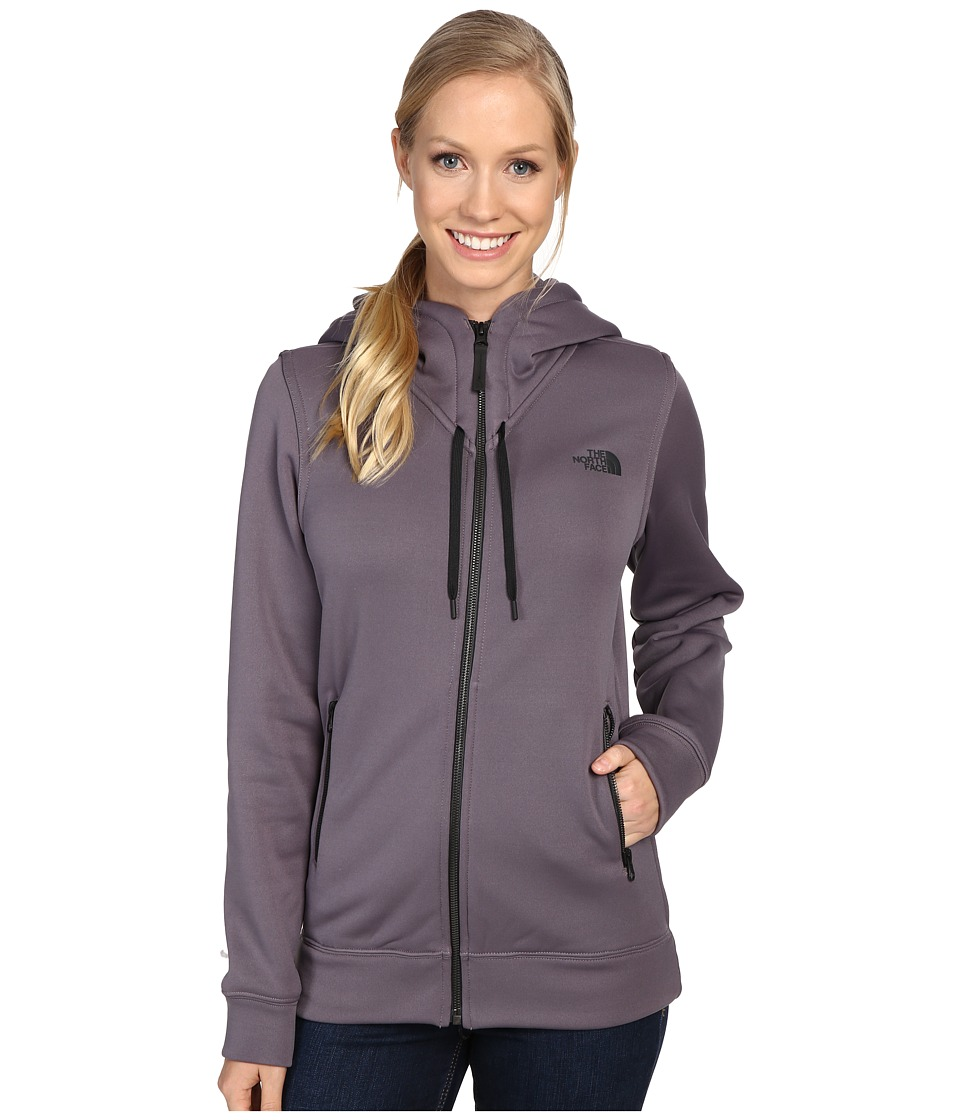The North Face - Wyntur Hoodie (Rabbit Grey) Women's Coat