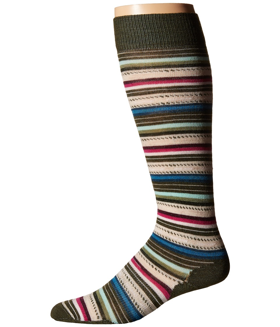 Smartwool - PhD Outdoor Mountaineer (Loden) Men's Knee High Socks Shoes