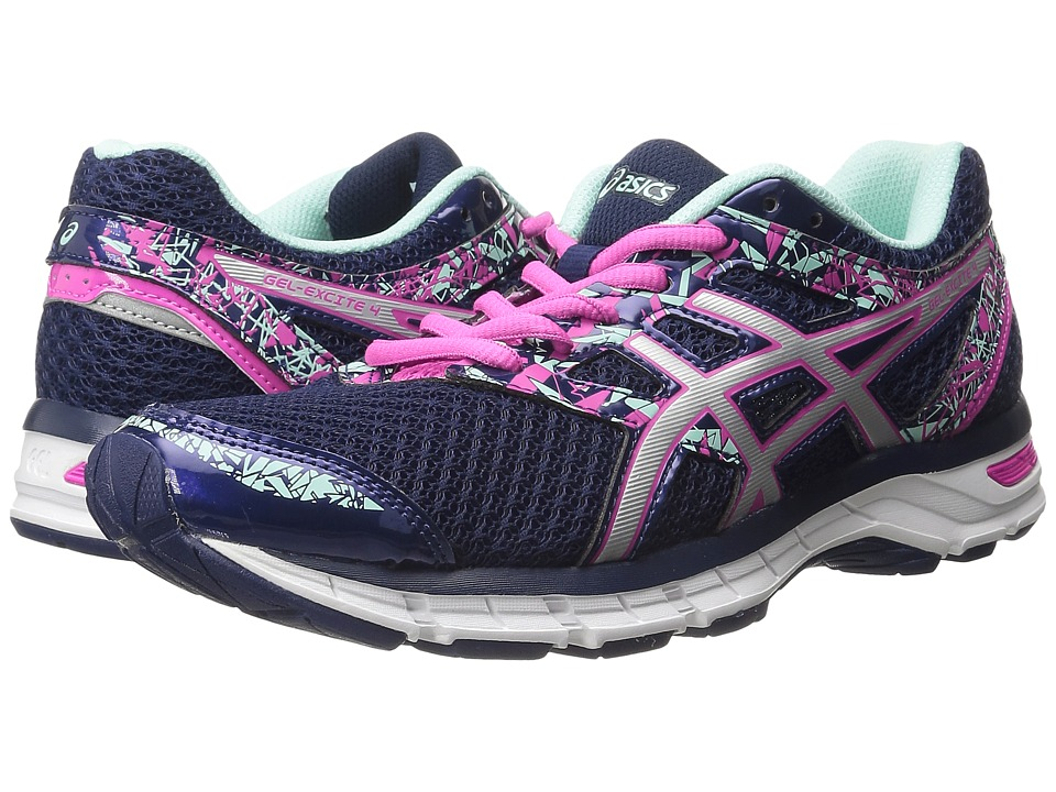 ASICS - Gel-Excite(r) 4 (Blue Print/Silver/Mint) Women's Running Shoes
