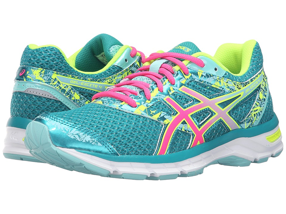ASICS - Gel-Excite 4 (Lapis/Hot Pink/Safety Yellow) Women's Running Shoes