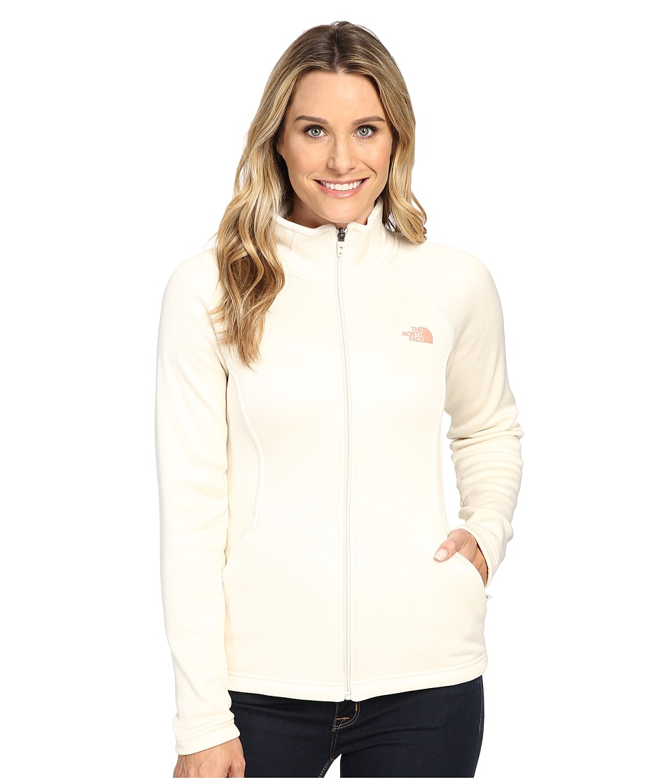 The North Face - Agave Full Zip (Vintage White Heather) Women's Sweatshirt