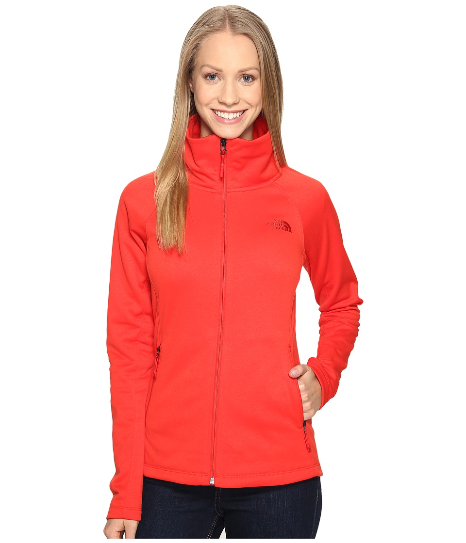 The North Face - Arcata Full Zip (High Risk Red (Prior Season)) Women's Coat
