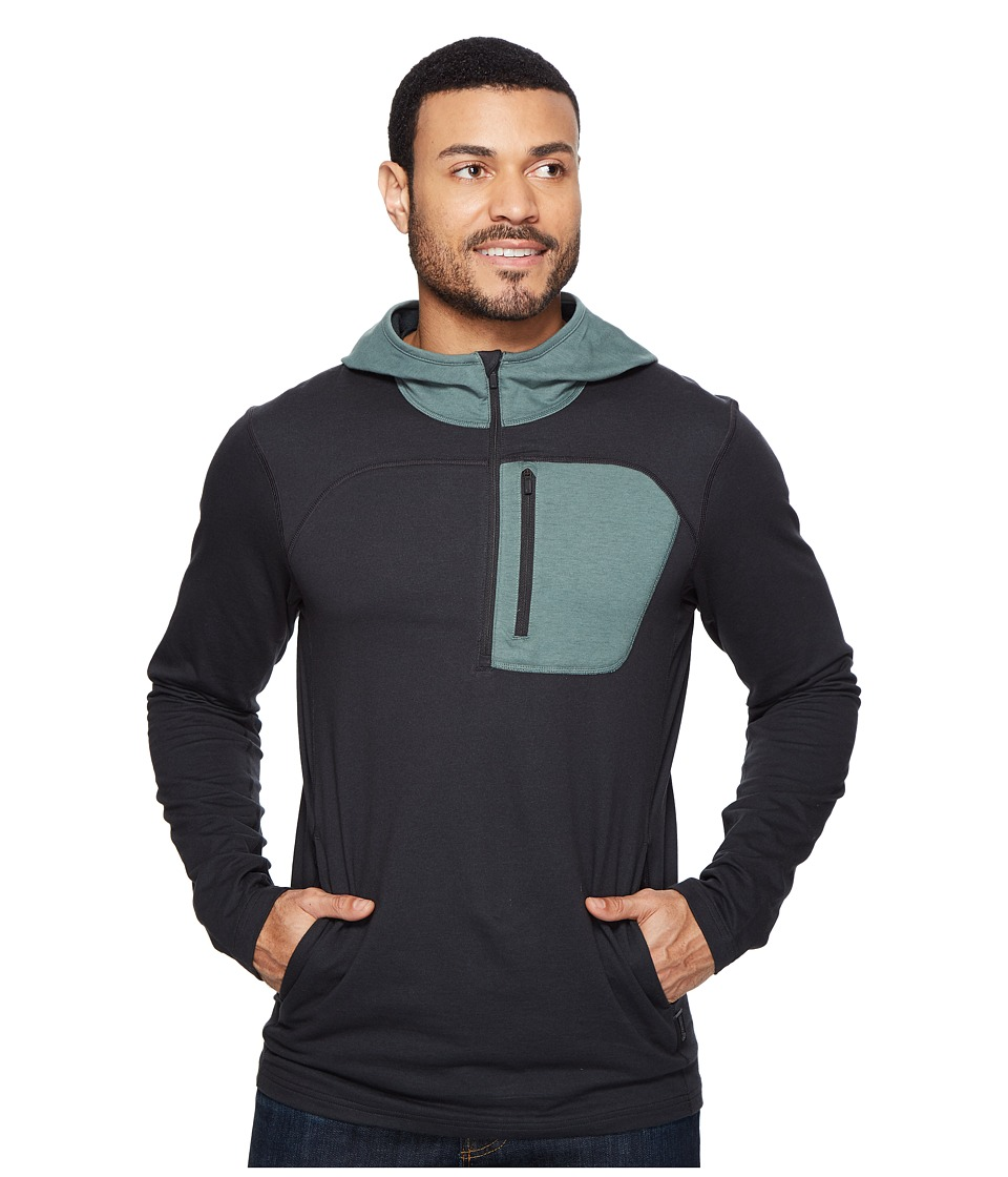 Mountain Hardwear - Craggertm Pullover Hoody (Black) Men's Long Sleeve Pullover