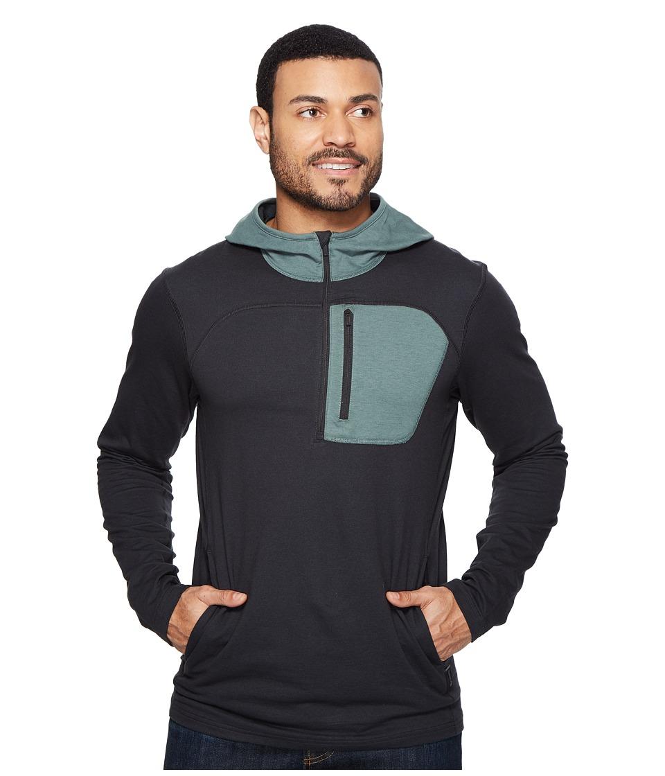Mountain Hardwear - Craggertm Pullover Hoody (Black) Men's Long Sleeve Pullover
