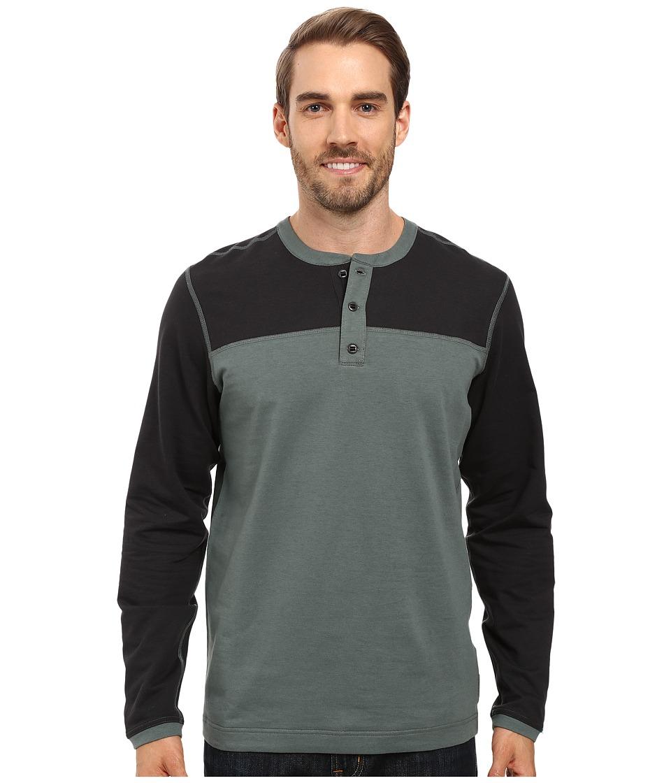 Mountain Hardwear - Cragger Henley (Thunderhead Grey) Men's Long Sleeve Pullover