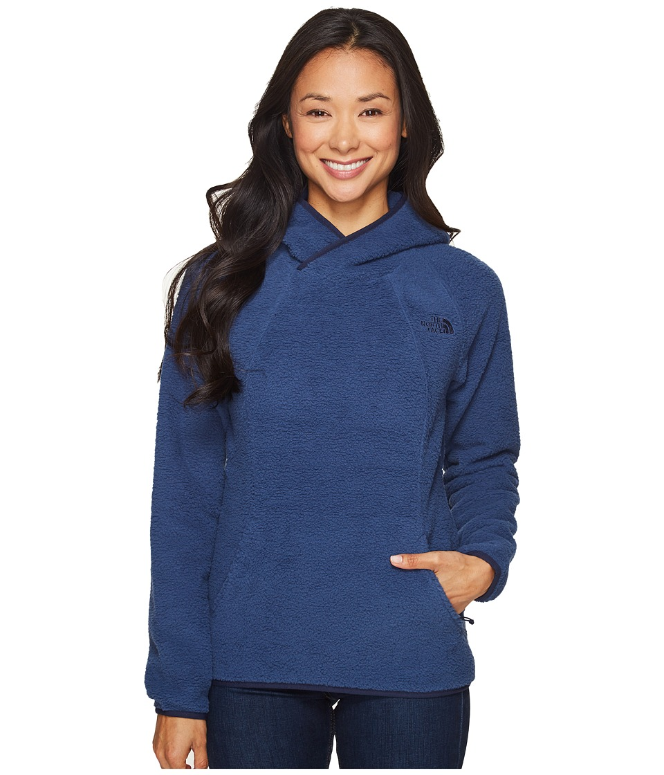 The North Face - Sherpa Pullover (Shady Blue) Women's Sweatshirt