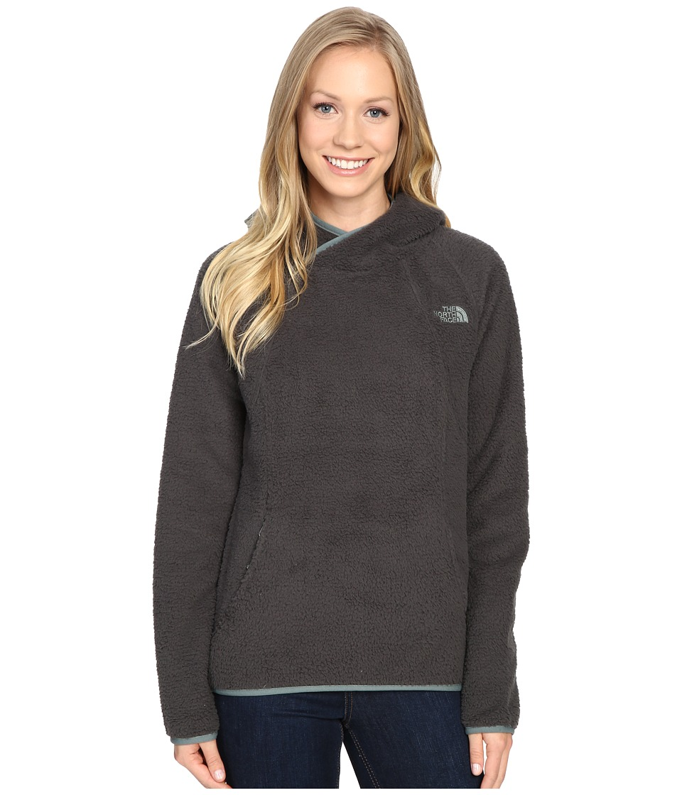 The North Face - Sherpa Pullover (Asphalt Grey) Women's Sweatshirt