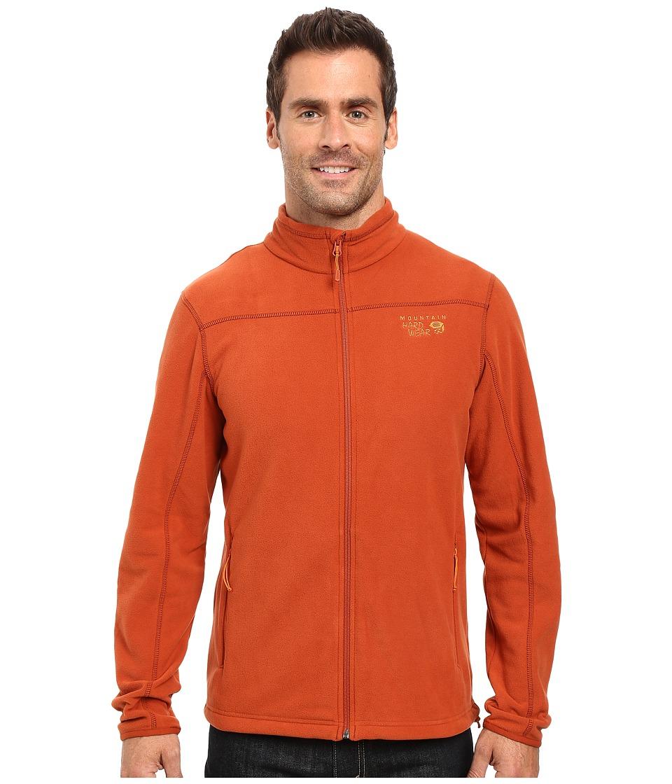 Mountain Hardwear - Microchill 2.0 Jacket (Dark Copper) Men's Long Sleeve Pullover