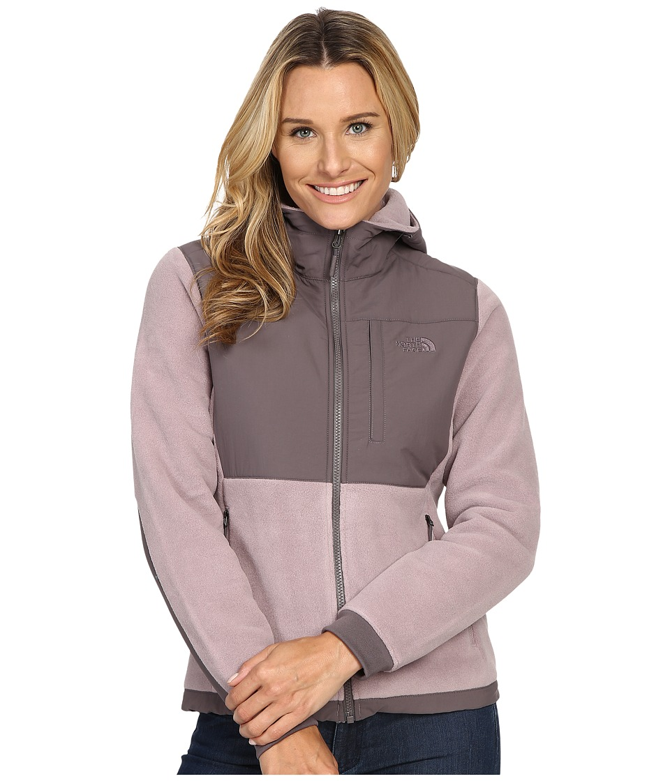 The North Face - Denali 2 Hoodie (Quail Grey/Rabbit Grey) Women's Sweatshirt