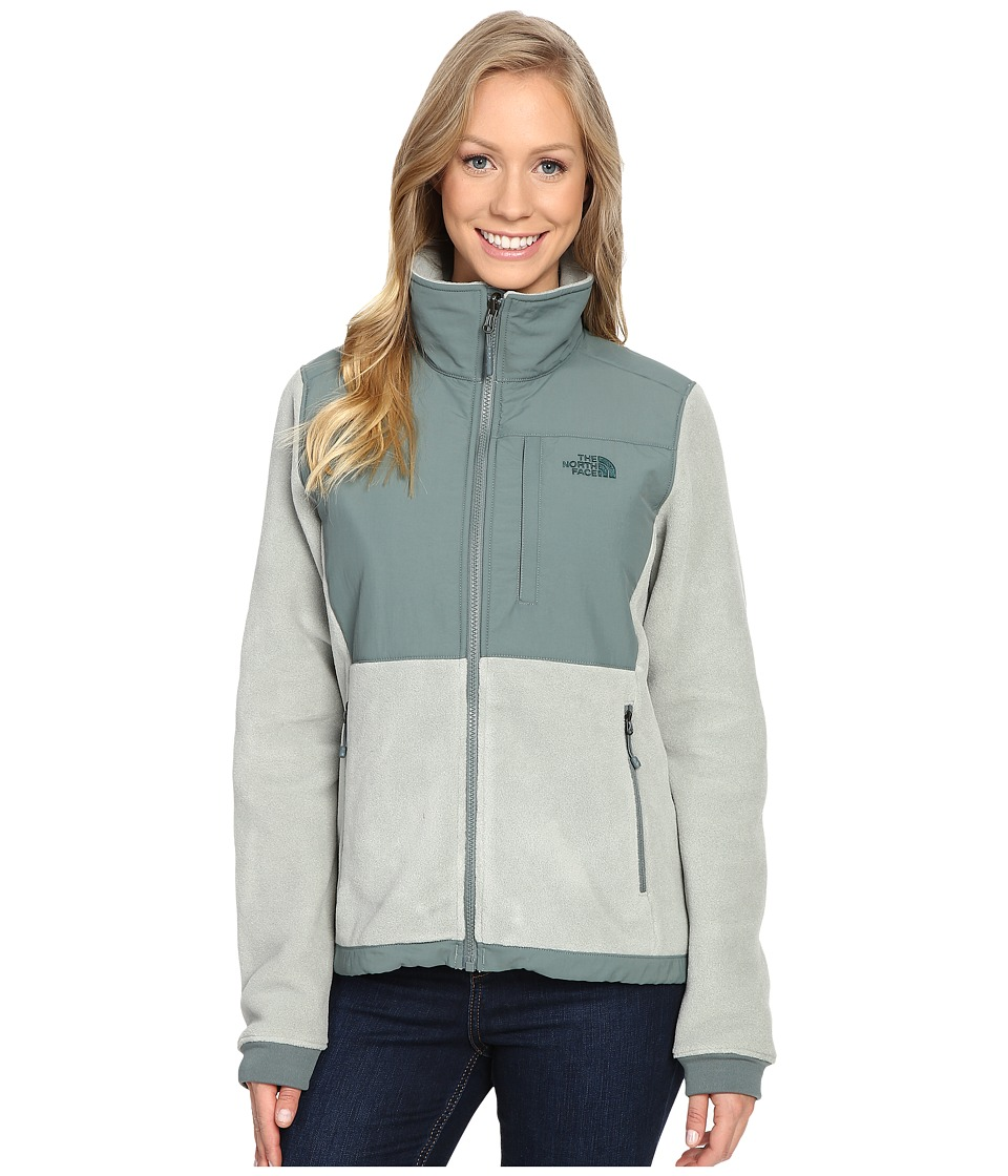 The North Face - Denali 2 Jacket (Wrought Iron/Balsam Green (Prior Season)) Women's Coat