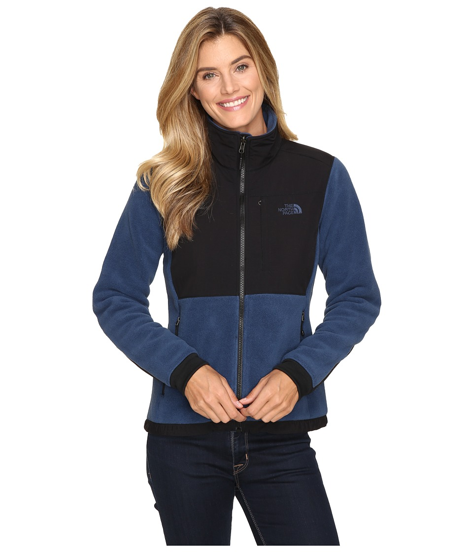 The North Face - Denali 2 Jacket (Shady Blue/TNF Black) Women's Coat