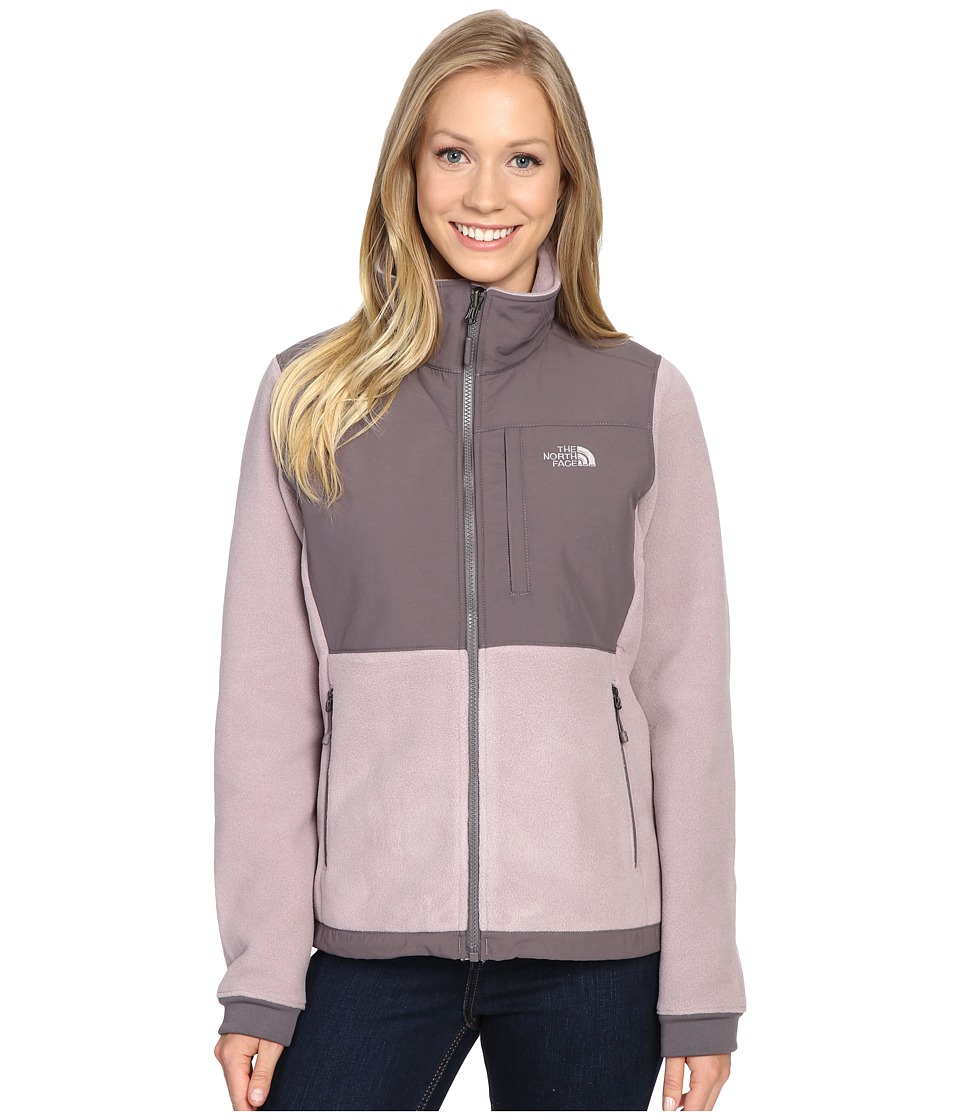 The North Face - Denali 2 Jacket (Quail Grey/Rabbit Grey) Women's Coat